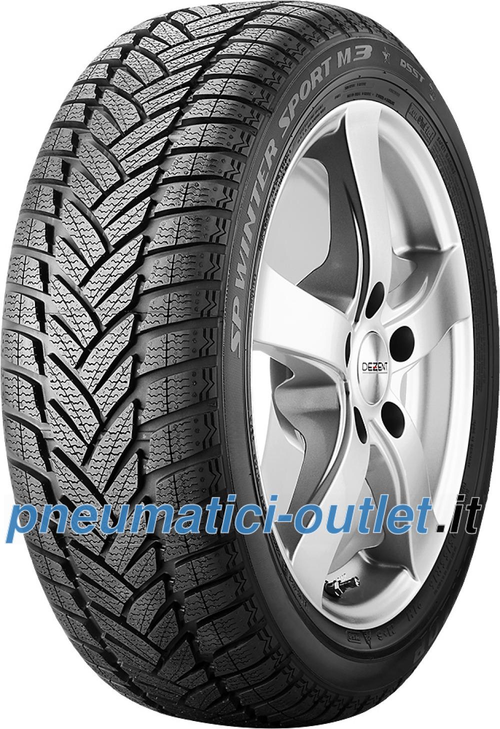 Dunlop SP Winter Sport M3 ROF ( 205/55 R16 91H *, con protezione del cerchio (MFS), runflat )