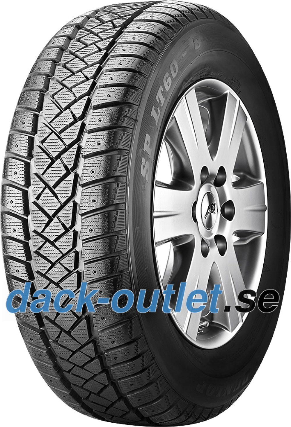 Dunlop SP LT 60 ( 195/65 R16C 104/102R 8PR , Kan dubbas  )