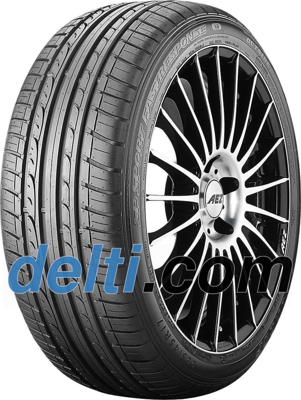 Dunlop SP Sport FastResponse ( 225/45 R17 91W med fälg skyddslist (MFS) )
