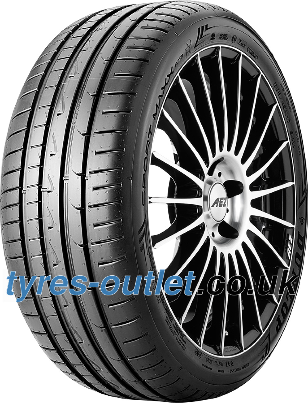 Dunlop Sport Maxx RT2 ( 255/40 R18 99Y XL with rim protection (MFS) )
