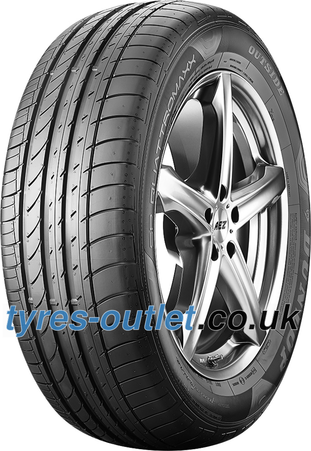 Dunlop SP QuattroMaxx ( 235/55 R18 100V with rim protection (MFS) )