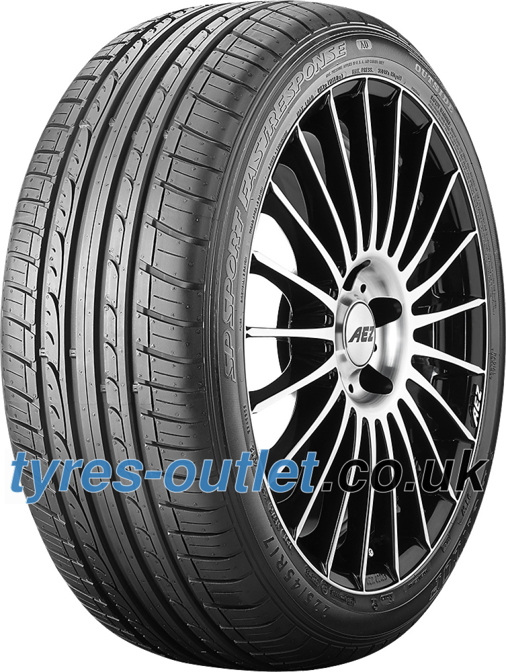 Dunlop SP Sport FastResponse ( 205/55 R16 91H Low rolling resistance, MO )