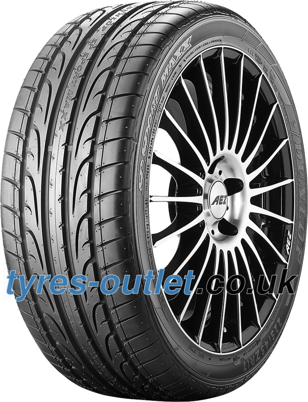 Dunlop SP Sport Maxx ( 305/30 ZR22 (105Y) XL with rim protection (MFS) )