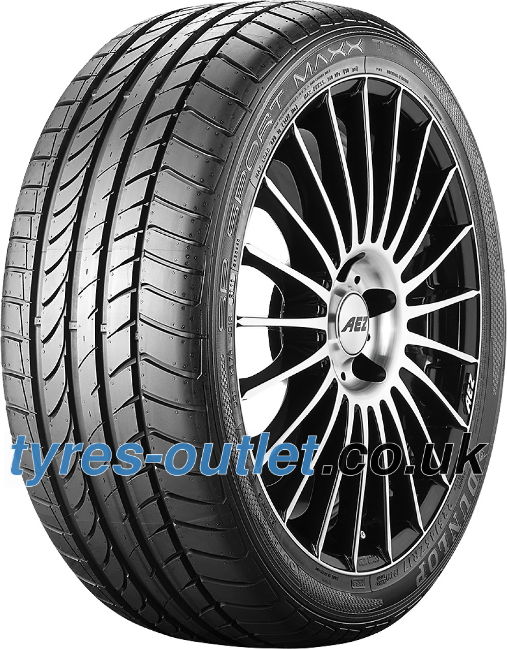 Dunlop SP Sport Maxx TT ROF ( 255/45 R17 98W runflat, with rim protection (MFS), * )
