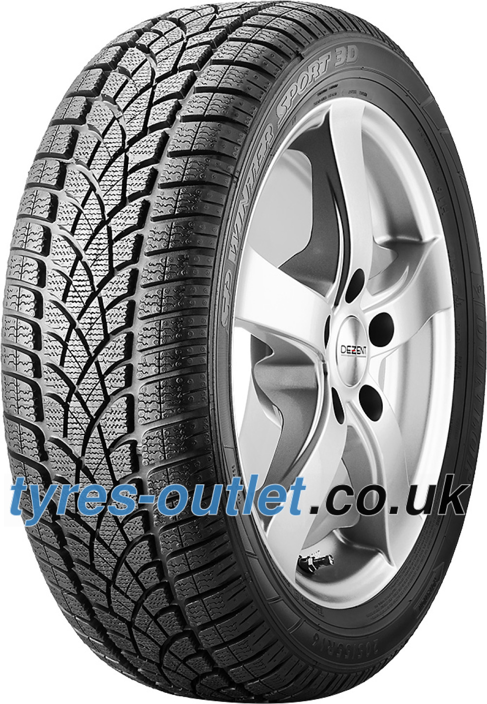 Dunlop SP Winter Sport 3D ROF ( 245/50 R18 100H *, with rim protection (MFS), runflat )