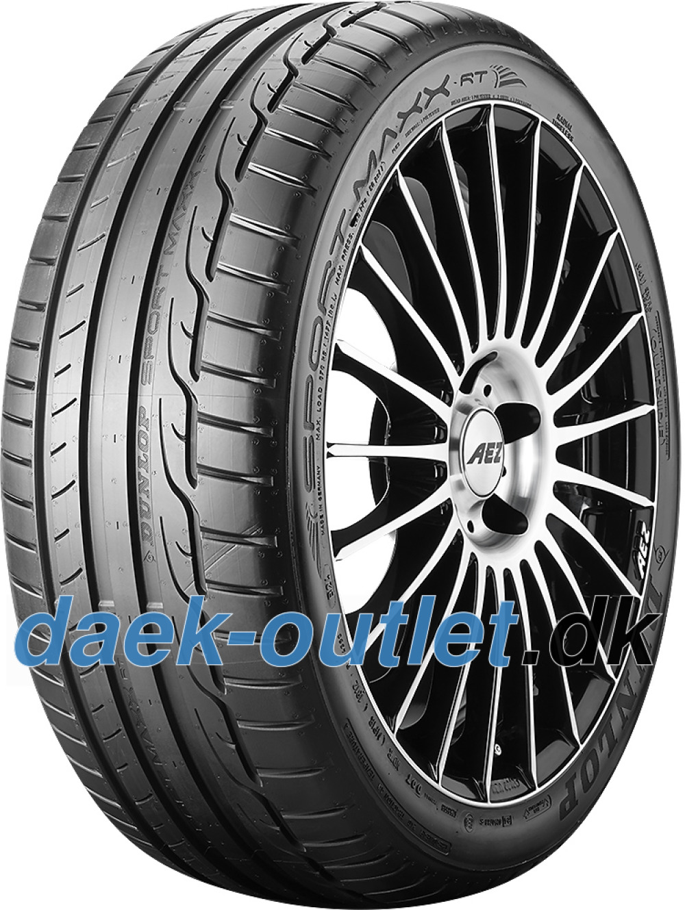 Dunlop Sport Maxx RT ( 225/55 R16 95Y med fælgbeskyttelse (MFS) )