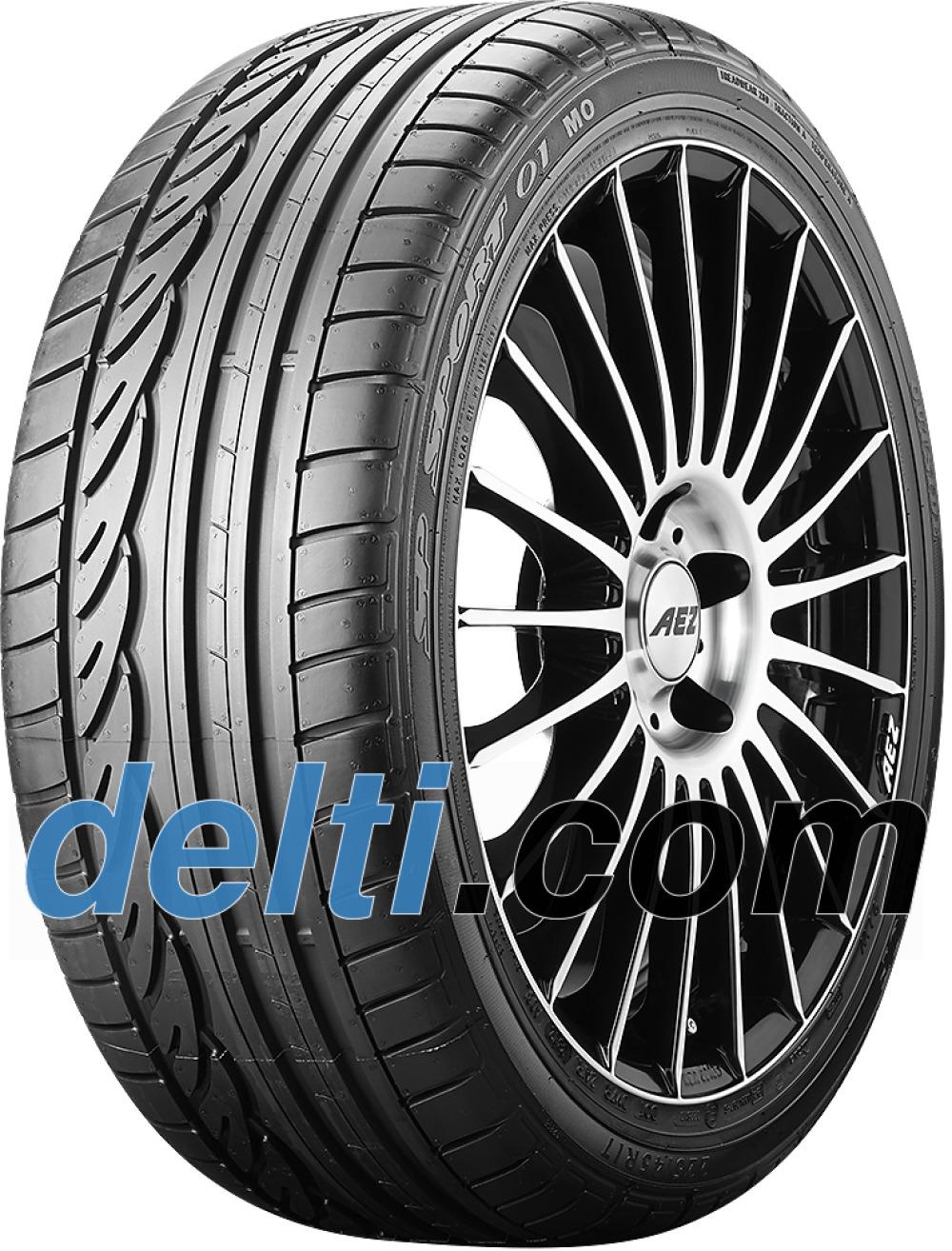 Dunlop SP Sport 01 ( 245/40 R18 93Y med fælgbeskyttelse (MFS), MO )