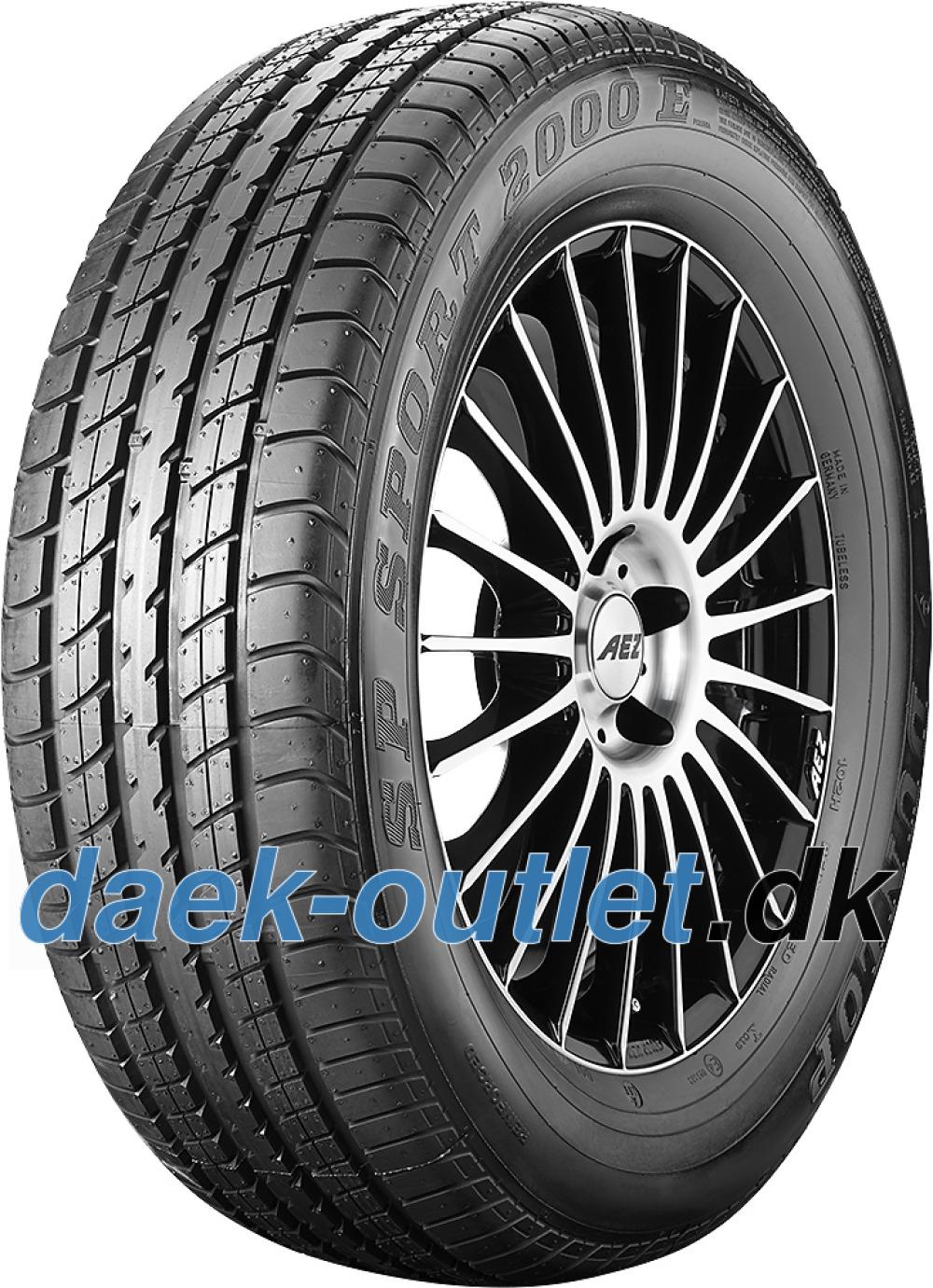 Dunlop SP Sport 2000E ( 225/50 ZR16 92W med fælgbeskyttelse (MFS), * )