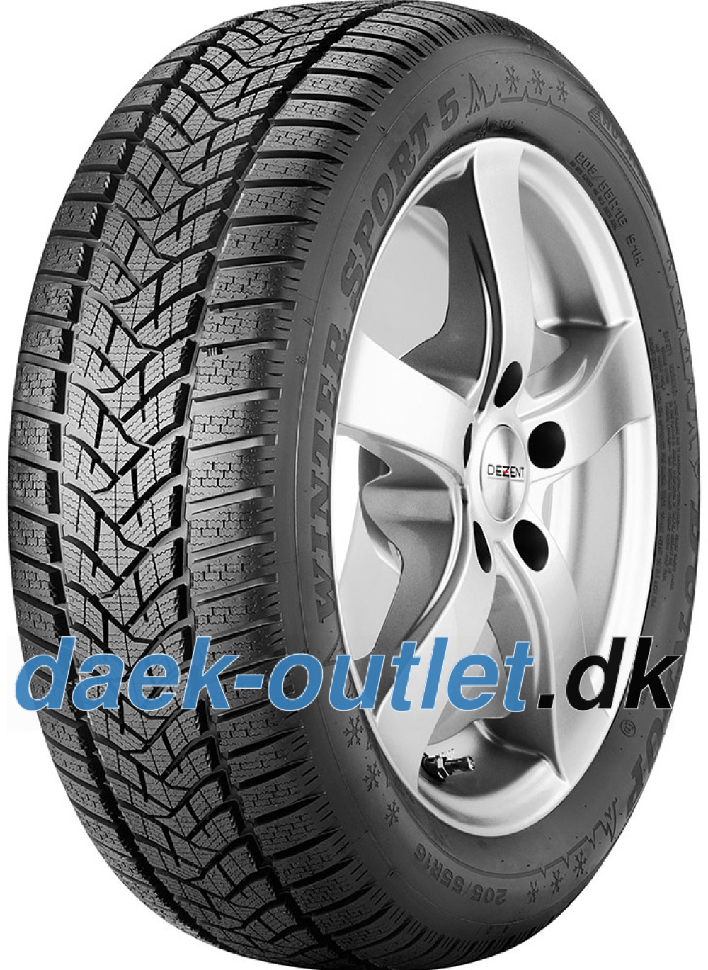 Dunlop Winter Sport 5 ( 235/55 R19 105V XL SUV )