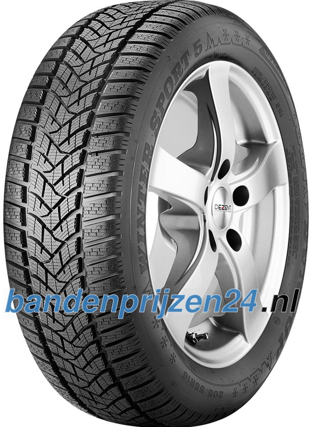 Dunlop Winter Sport 5 ( 245/40 R18 97V XL , met velgrandbescherming (MFS) )