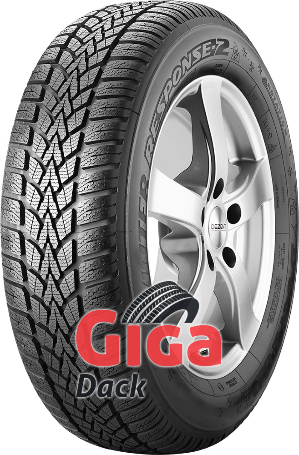 Dunlop Winter Response 2 ( 185/55 R15 86H XL )