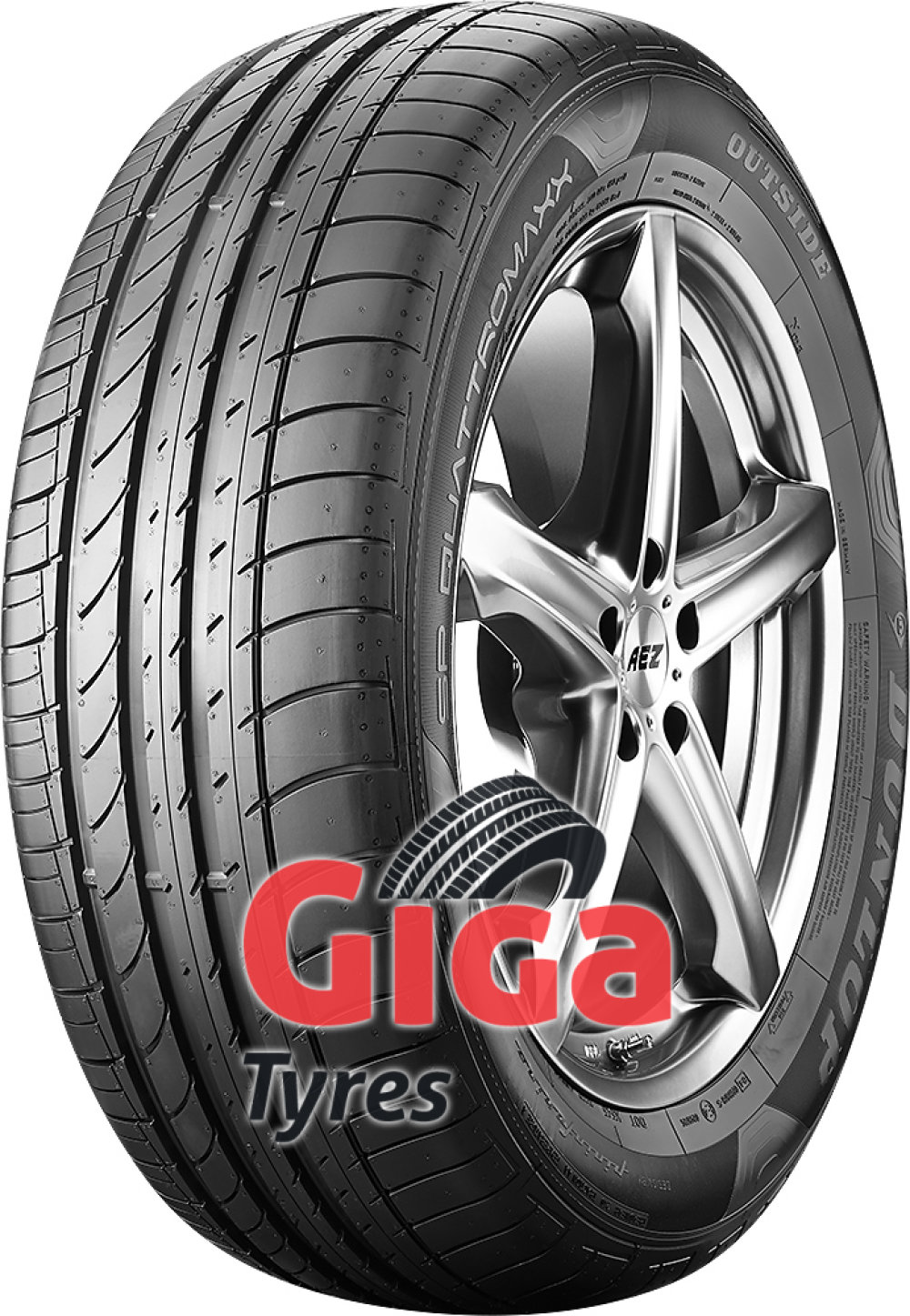 Dunlop SP QuattroMaxx ( 255/55 R18 109Y XL with rim protection (MFS) )