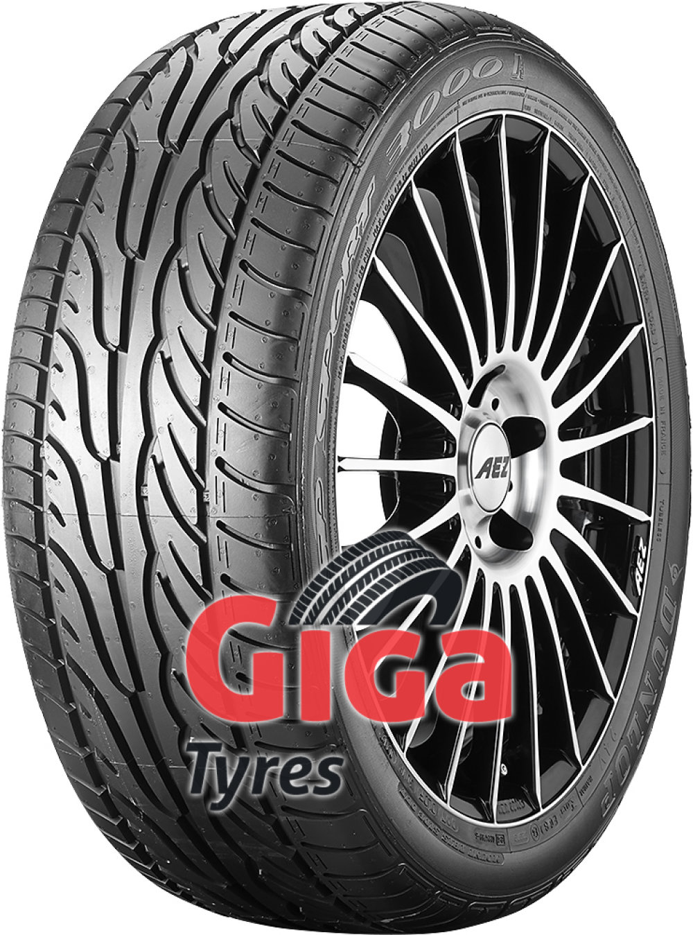 Dunlop SP Sport 3000A ( 215/50 R17 91V with rim protection (MFS) )