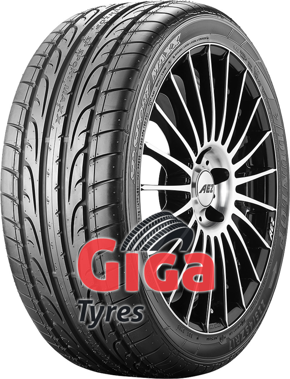 Dunlop SP Sport Maxx ( 215/45 R16 86H with rim protection (MFS) )