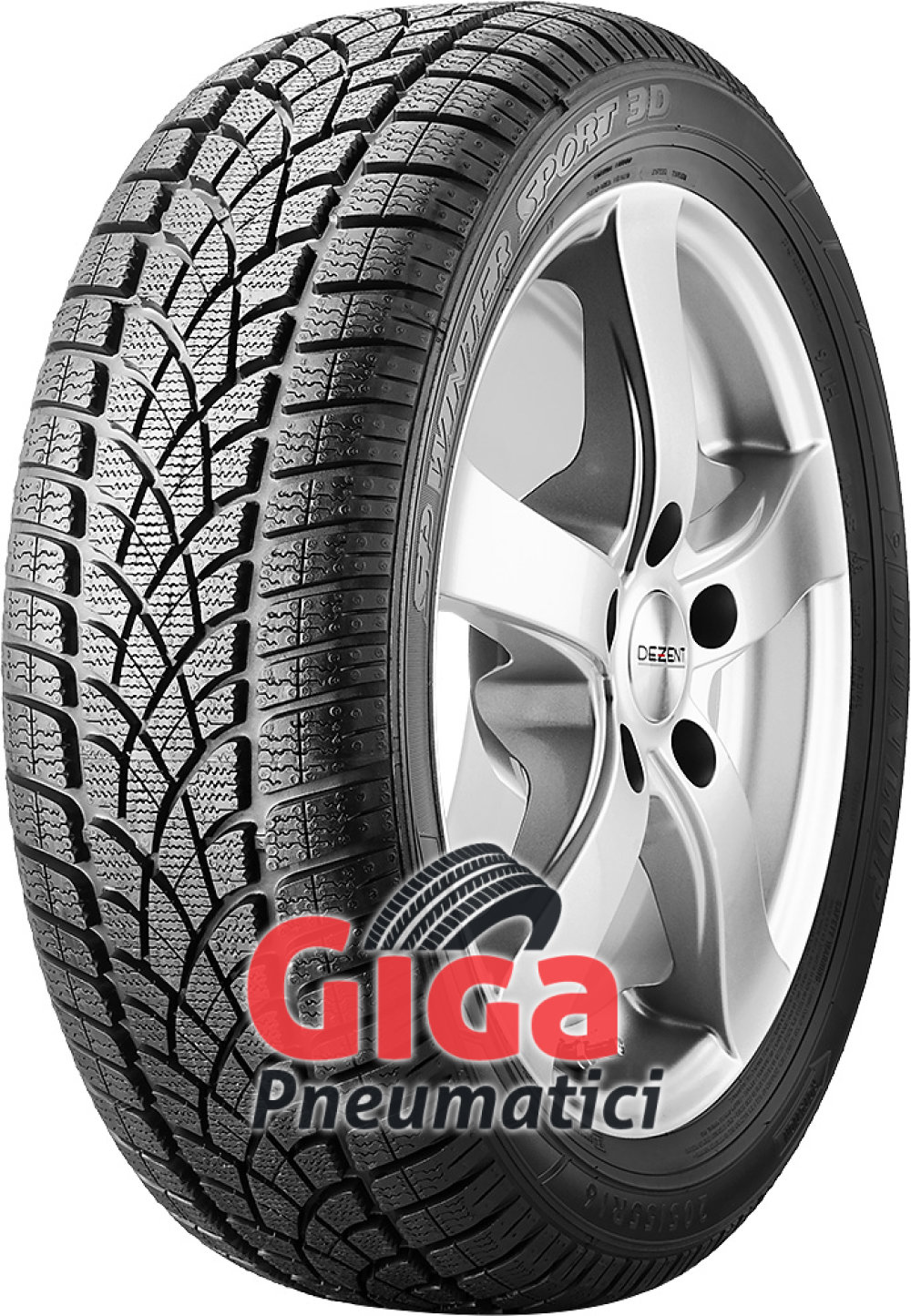 Dunlop SP Winter Sport 3D ( 195/60 R16C 99/97T 6PR )