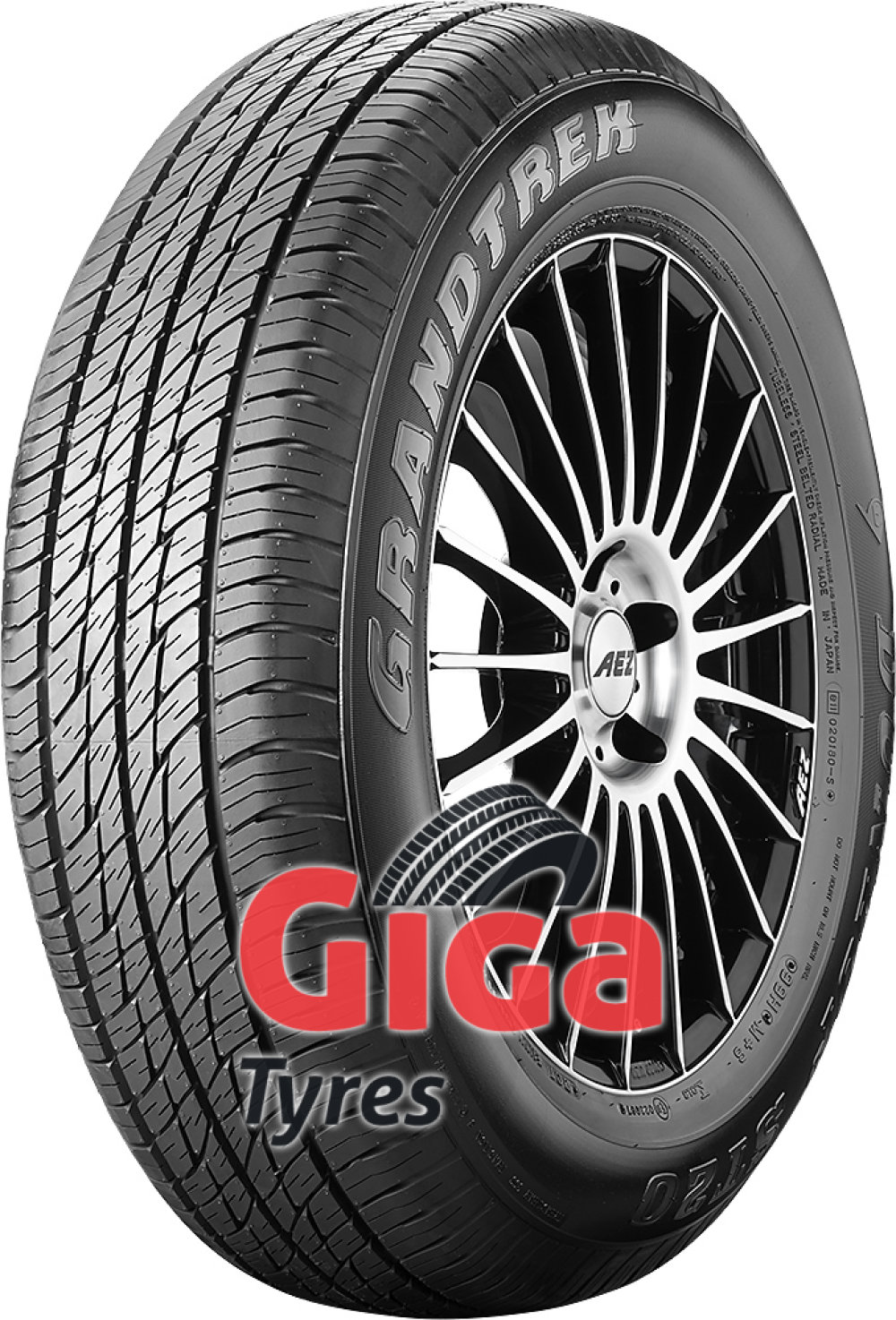Dunlop Grandtrek ST 20 ( 215/60 R17 96H , with rim protection (MFS) )