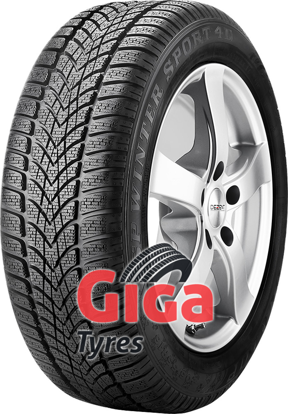 Dunlop SP Winter Sport 4D ( 265/45 R20 104V , N0, with rim protection (MFS) )