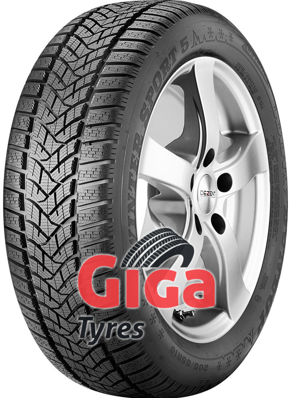 Dunlop Winter Sport 5 ( 215/55 R17 98V XL , with rim protection (MFS) )