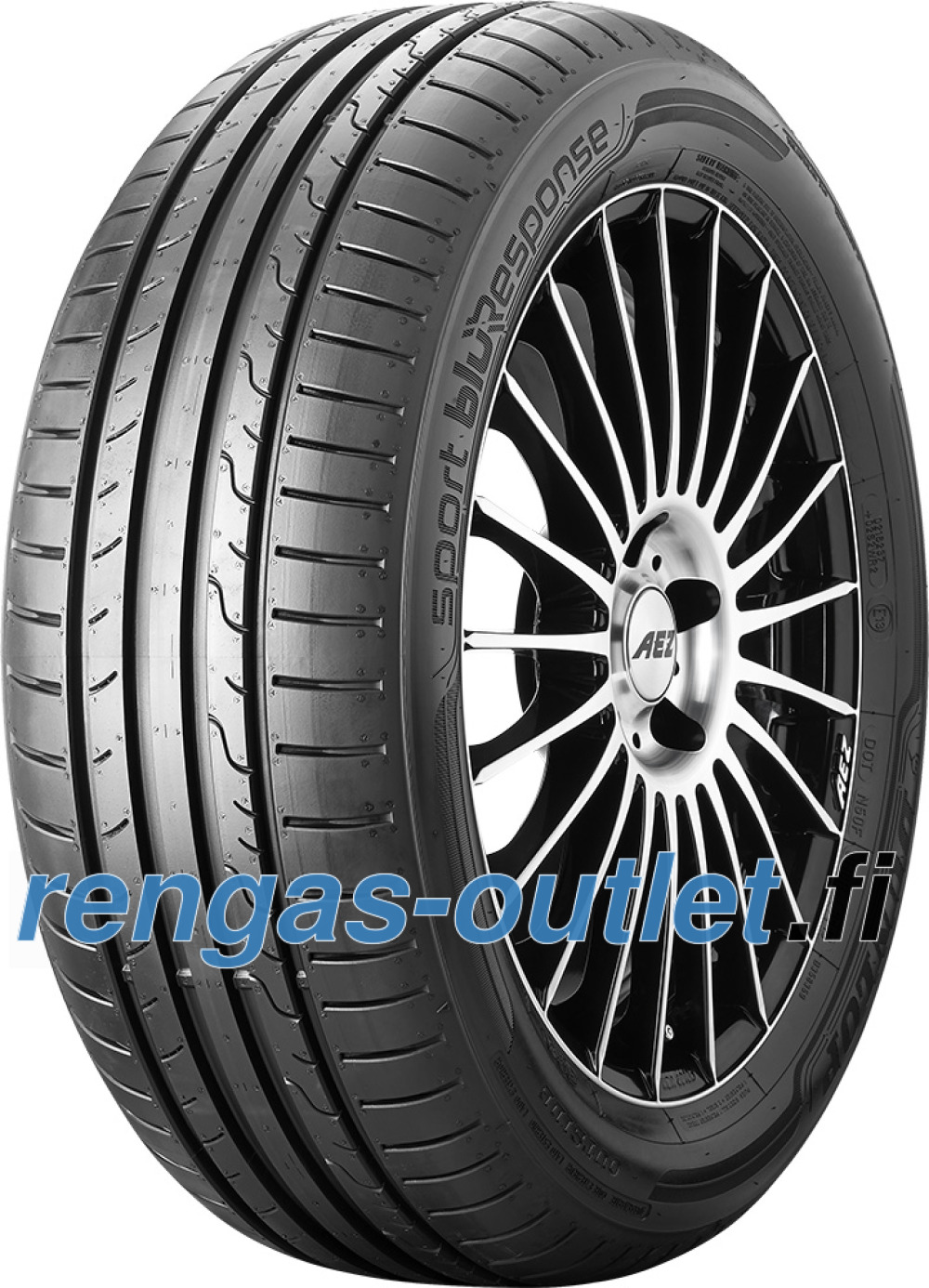 Dunlop Sport BluResponse ( 195/50 R15 82V vannesuojalla (MFS) )