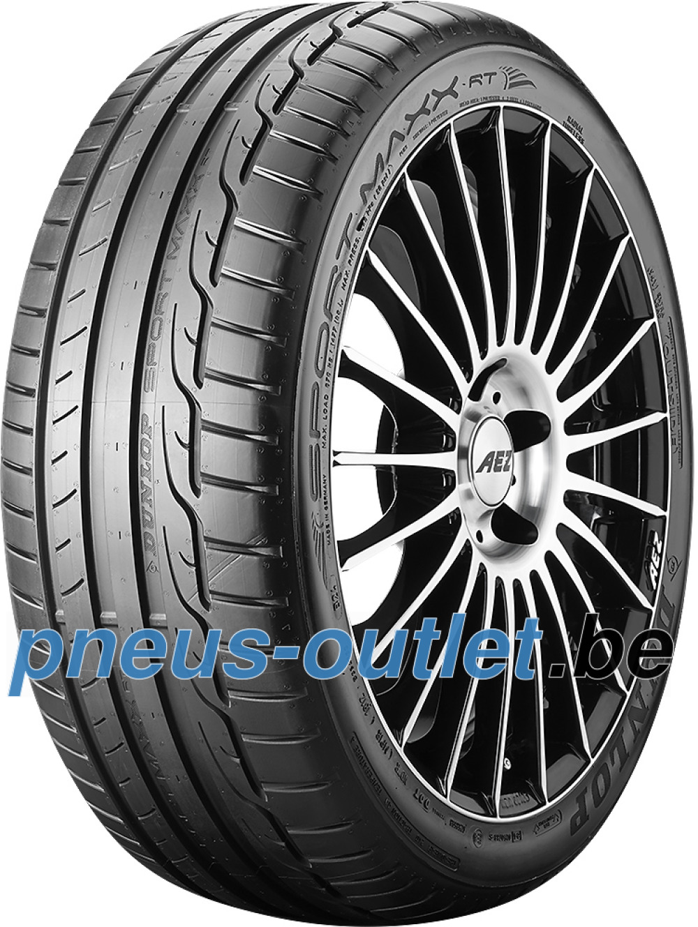 Dunlop Sport Maxx RT ( 205/45 R17 88W XL avec protège-jante (MFS), * BLT )