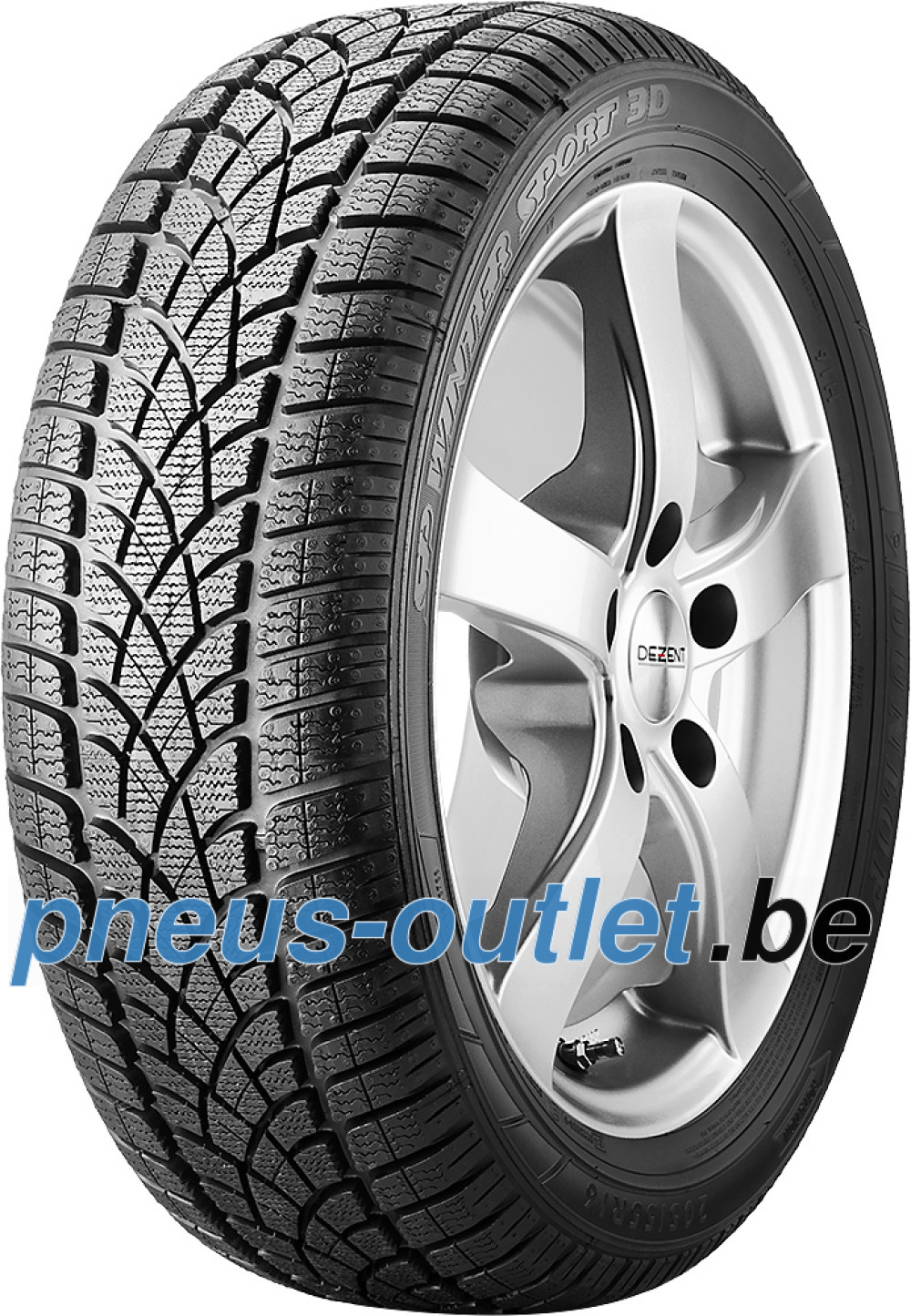 Dunlop SP Winter Sport 3D ( 225/40 R18 92V XL , avec protège-jante (MFS), AO BLT )