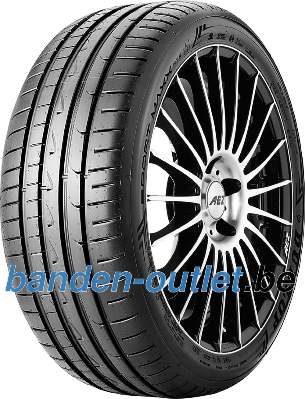 Dunlop Sport Maxx RT2 ( 245/45 ZR17 (99Y) XL NST, met velgrandbescherming (MFS) )