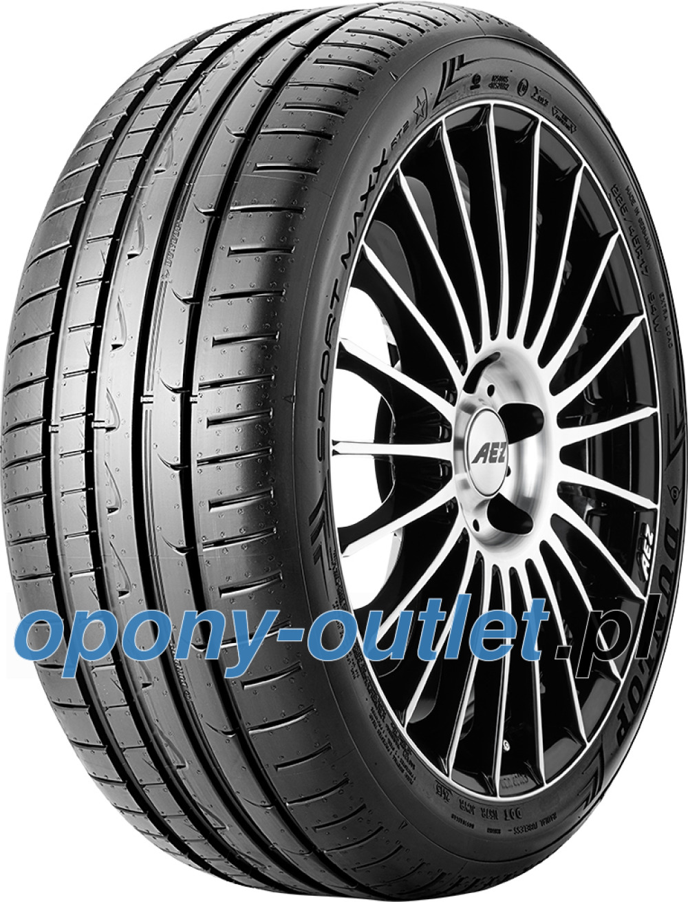 Dunlop Sport Maxx RT2 ( 275/40 R18 103Y XL MO, osłona felgi (MFS) )