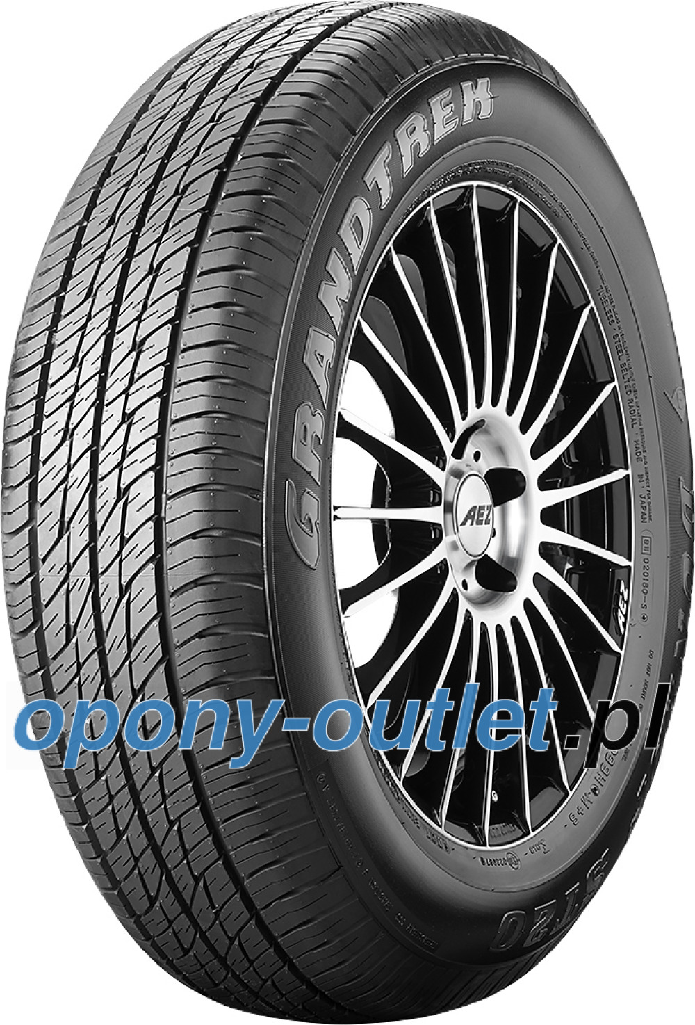 Dunlop Grandtrek ST 20 ( 215/60 R17 96H , prawa )