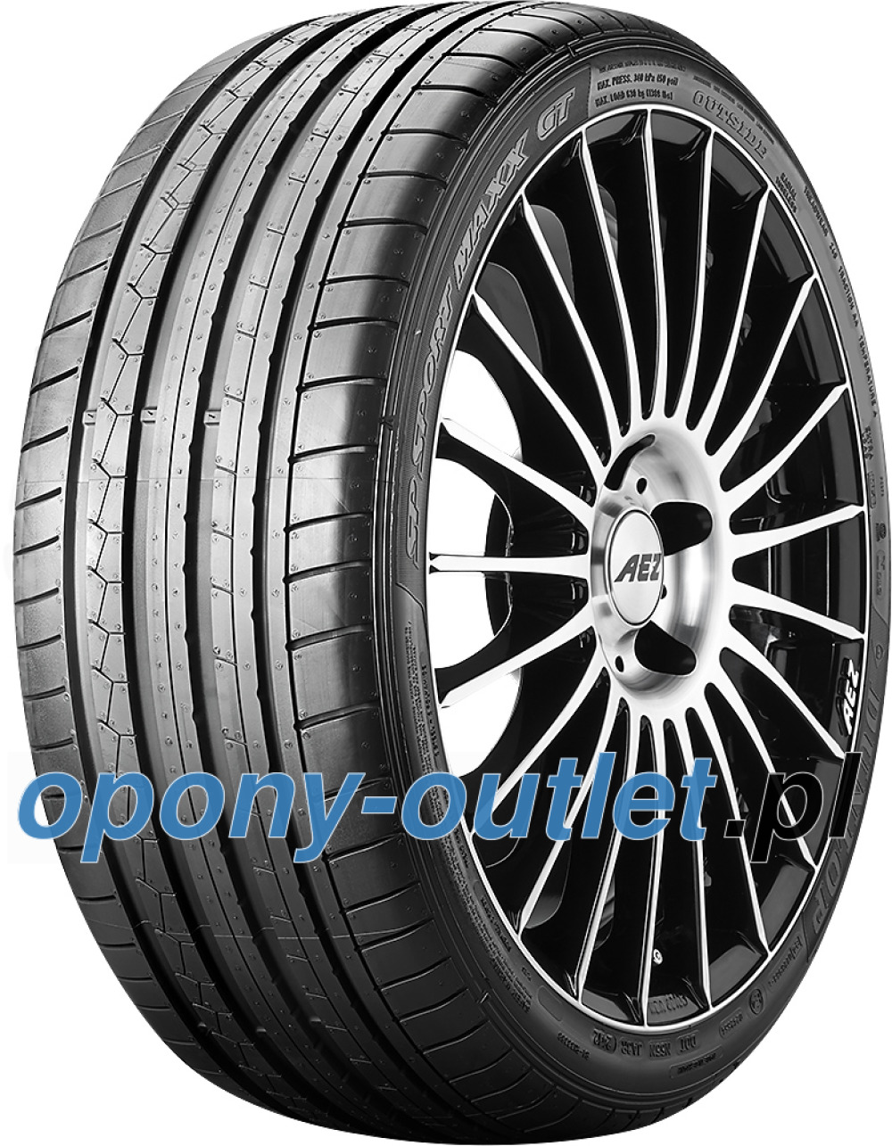 Dunlop SP Sport Maxx GT ( 265/35 R20 99Y XL osłona felgi (MFS), AO BLT )