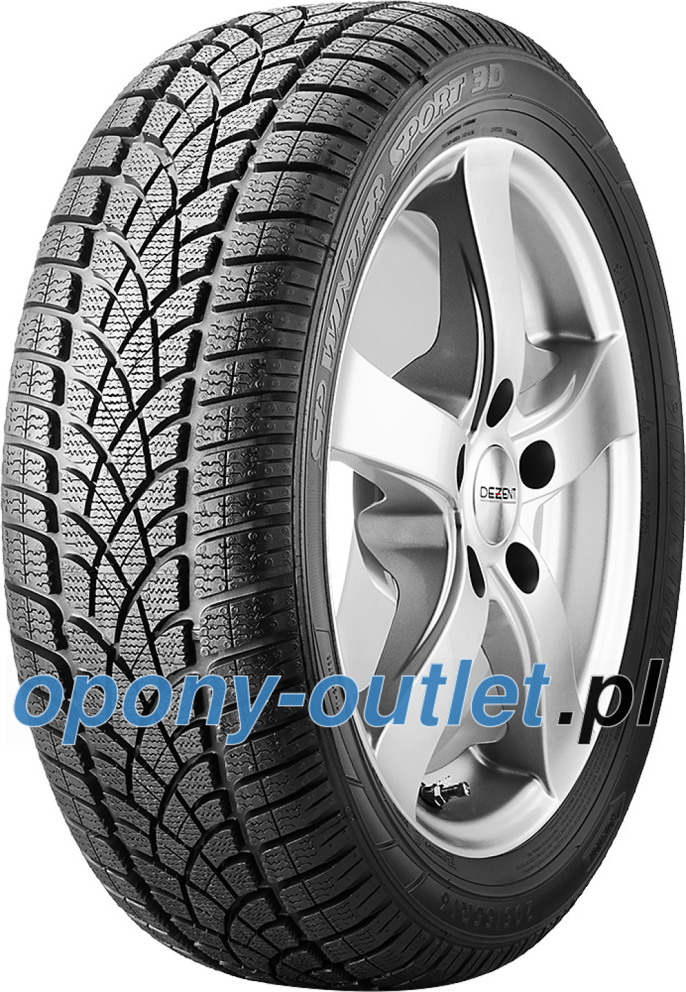 Dunlop SP Winter Sport 3D ( 255/45 R17 98V , MO, osłona felgi (MFS) )
