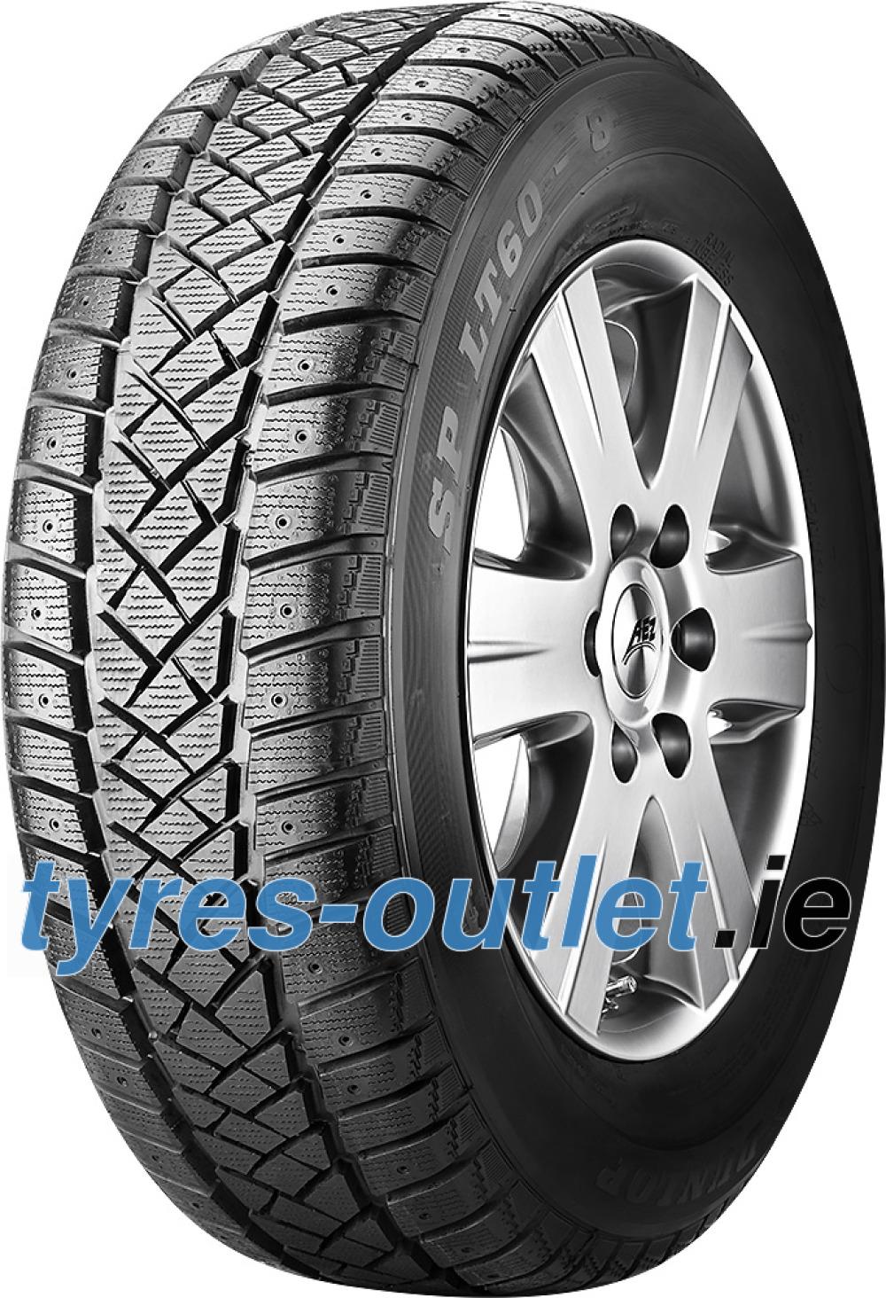 Dunlop SP LT 60 ( 195/75 R16C 107/105R 8PR , studdable )