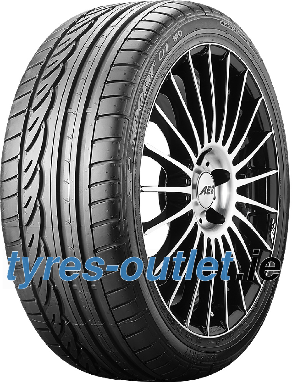 Dunlop SP Sport 01 ROF ( 225/50 R17 94W *, with rim protection (MFS), runflat )