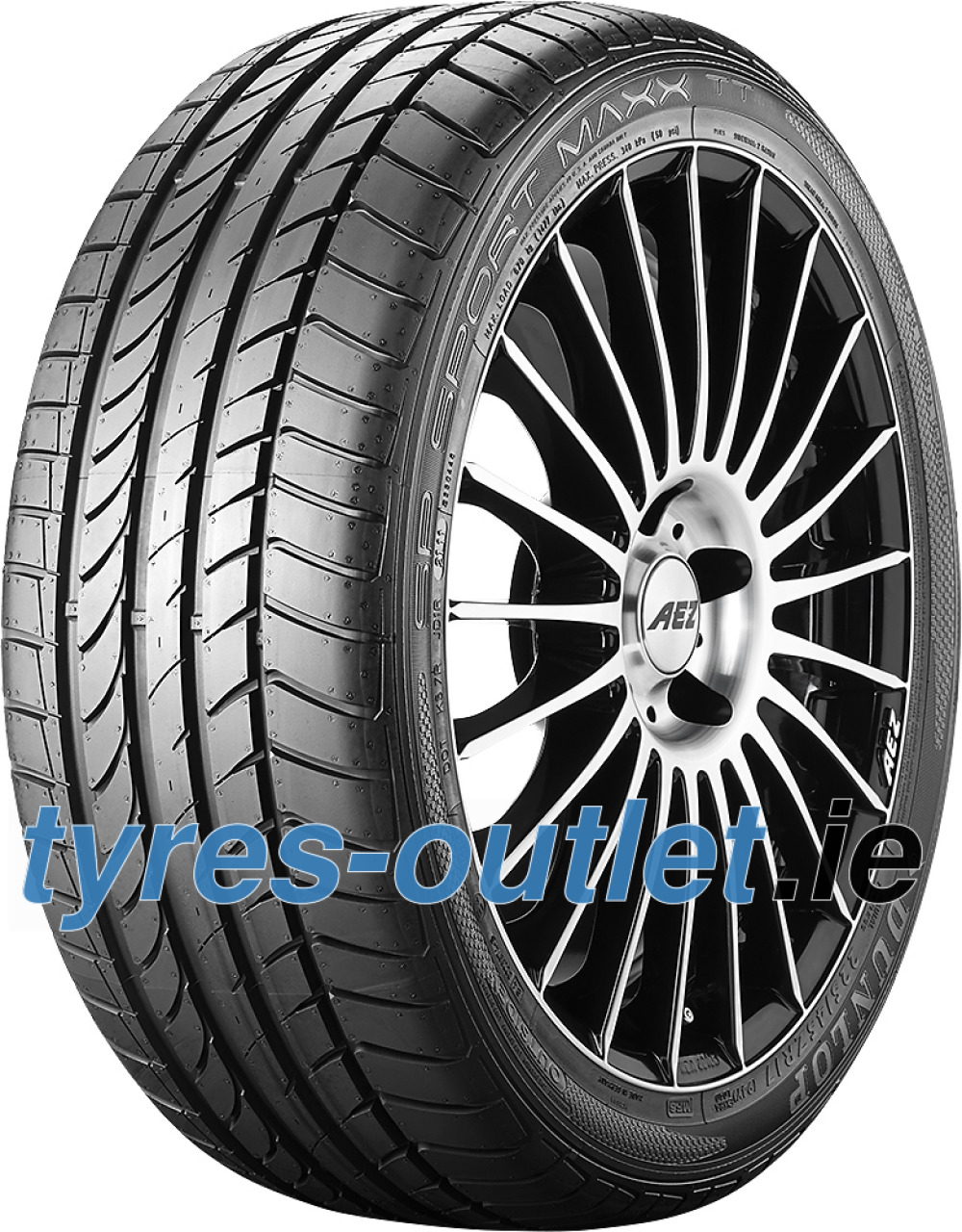 Dunlop SP Sport Maxx GT ROF ( 315/35 R20 110W XL *, with rim protection (MFS), runflat )