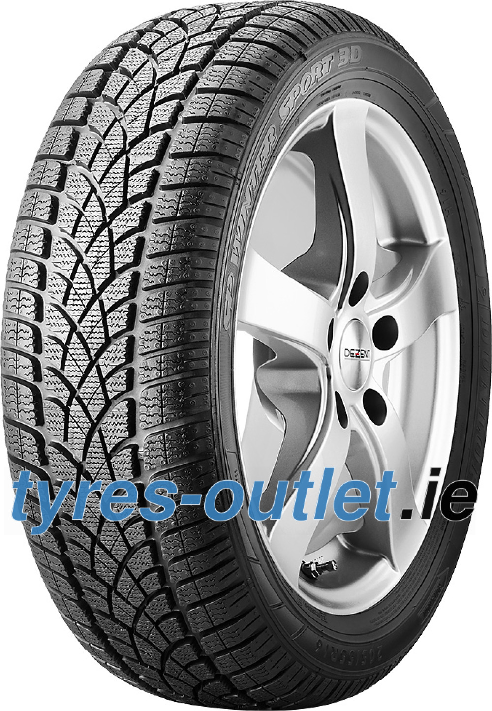 Dunlop SP Winter Sport 3D ( 235/50 R18 101H XL , with rim protection (MFS) )
