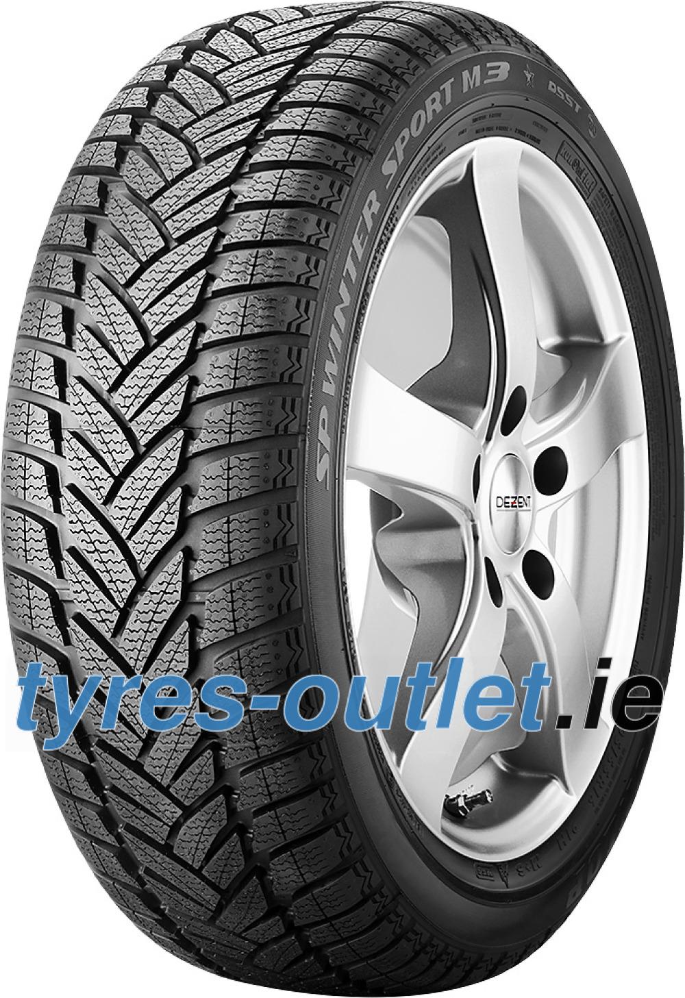 Dunlop SP Winter Sport M3 ROF ( 245/40 R18 97V XL , runflat, with rim protection (MFS), AO )