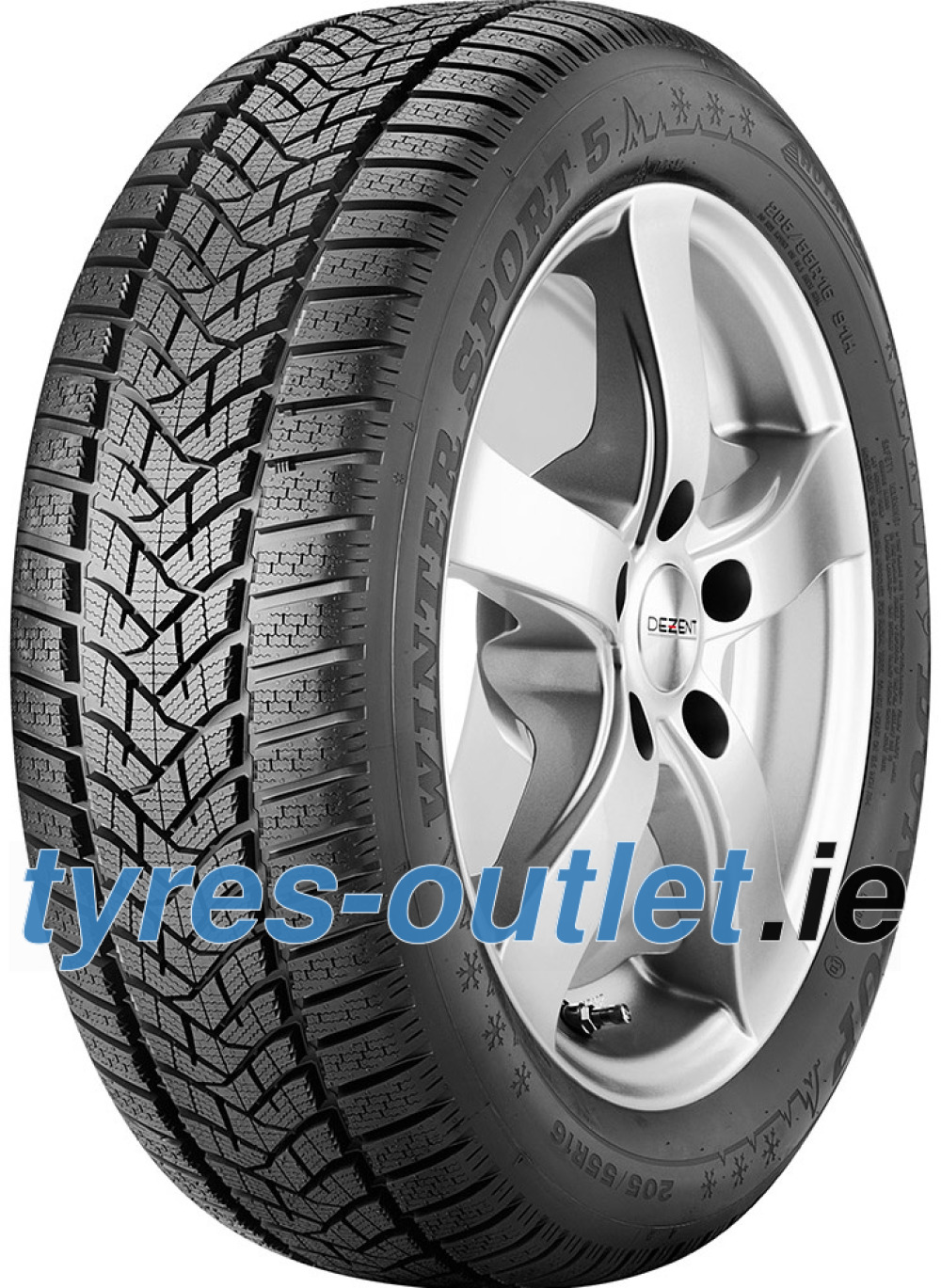 Dunlop Winter Sport 5 ( 245/45 R17 99V XL , NST, with rim protection (MFS) )
