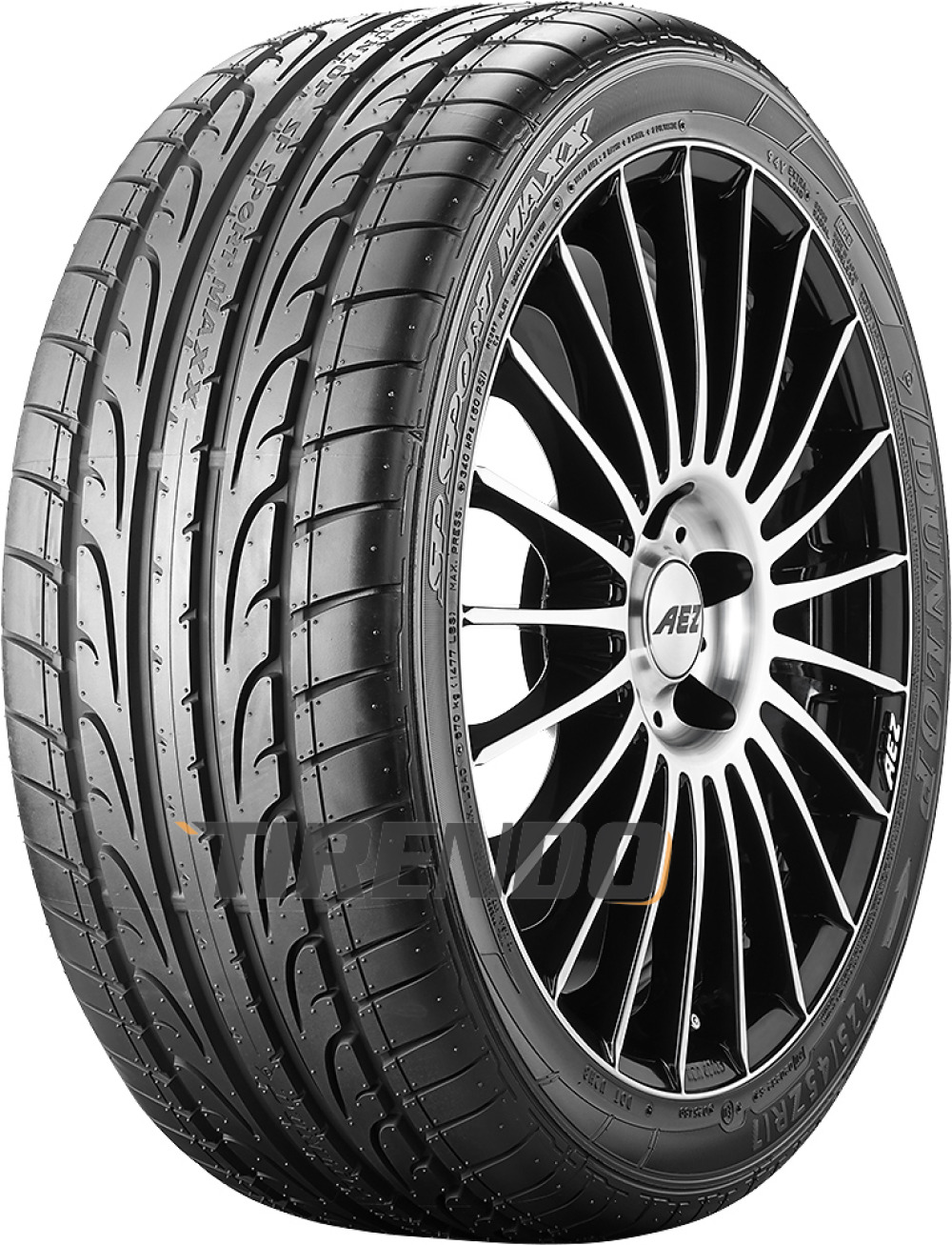 Dunlop SP Sport Maxx ( 255/35 ZR20 (97Y) XL J, mit Felgenschutz (MFS) )