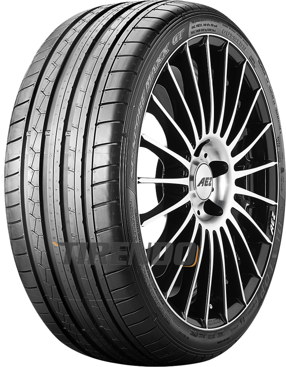 Dunlop SP Sport Maxx GT ( 285/30 ZR21 (100Y) XL NST, RO1 )