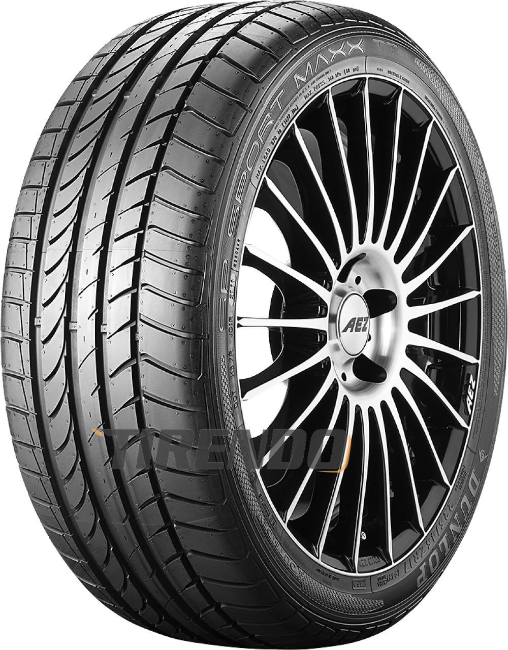 Dunlop SP Sport Maxx TT ( 225/45 R17 91W Reduzierter Rollwiderstand, MO, mit Felgenschutz (MFS) )