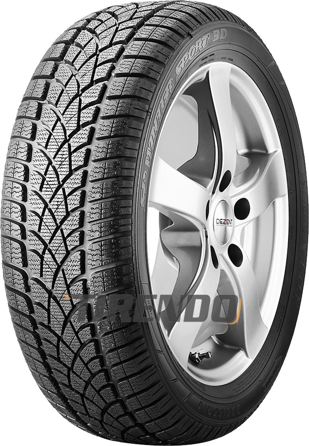 Dunlop SP Winter Sport 3D ( 255/40 R19 100V XL mit Felgenschutz (MFS), RO1 )