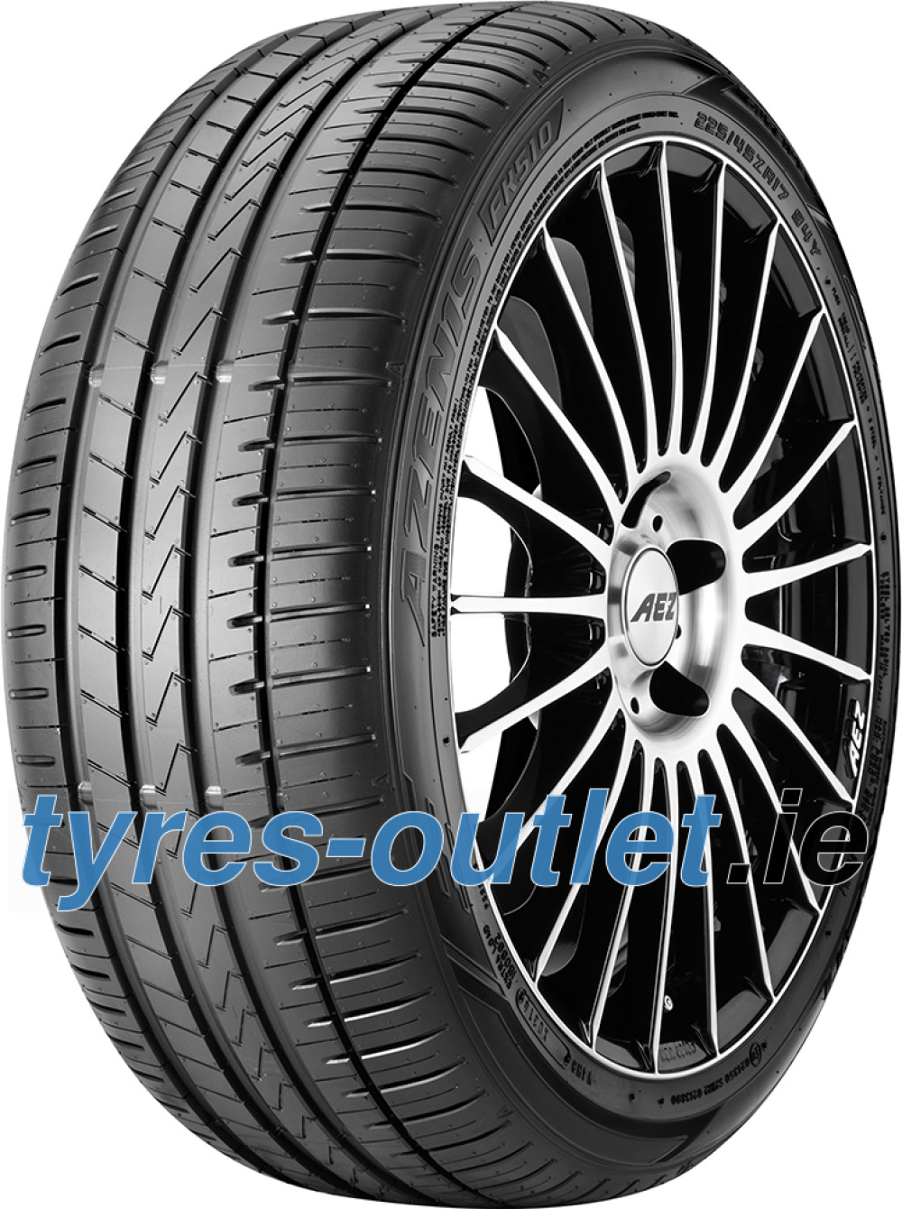 Falken Azenis FK510 ( 235/35 ZR19 (91Y) XL with rim protection (MFS) )