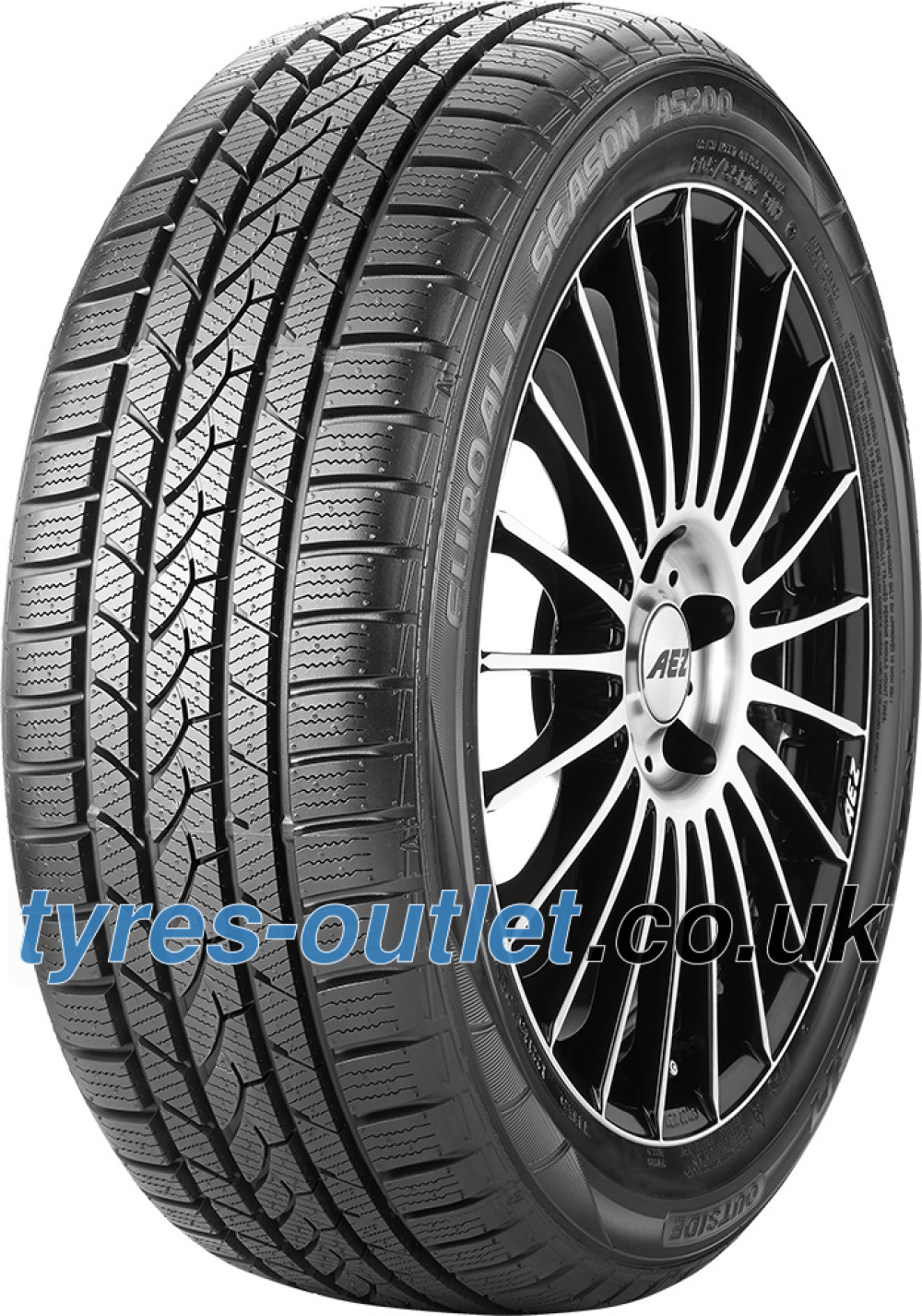 Falken Euro All Season AS200 ( 195/55 R15 85H , with rim protection (MFS) )