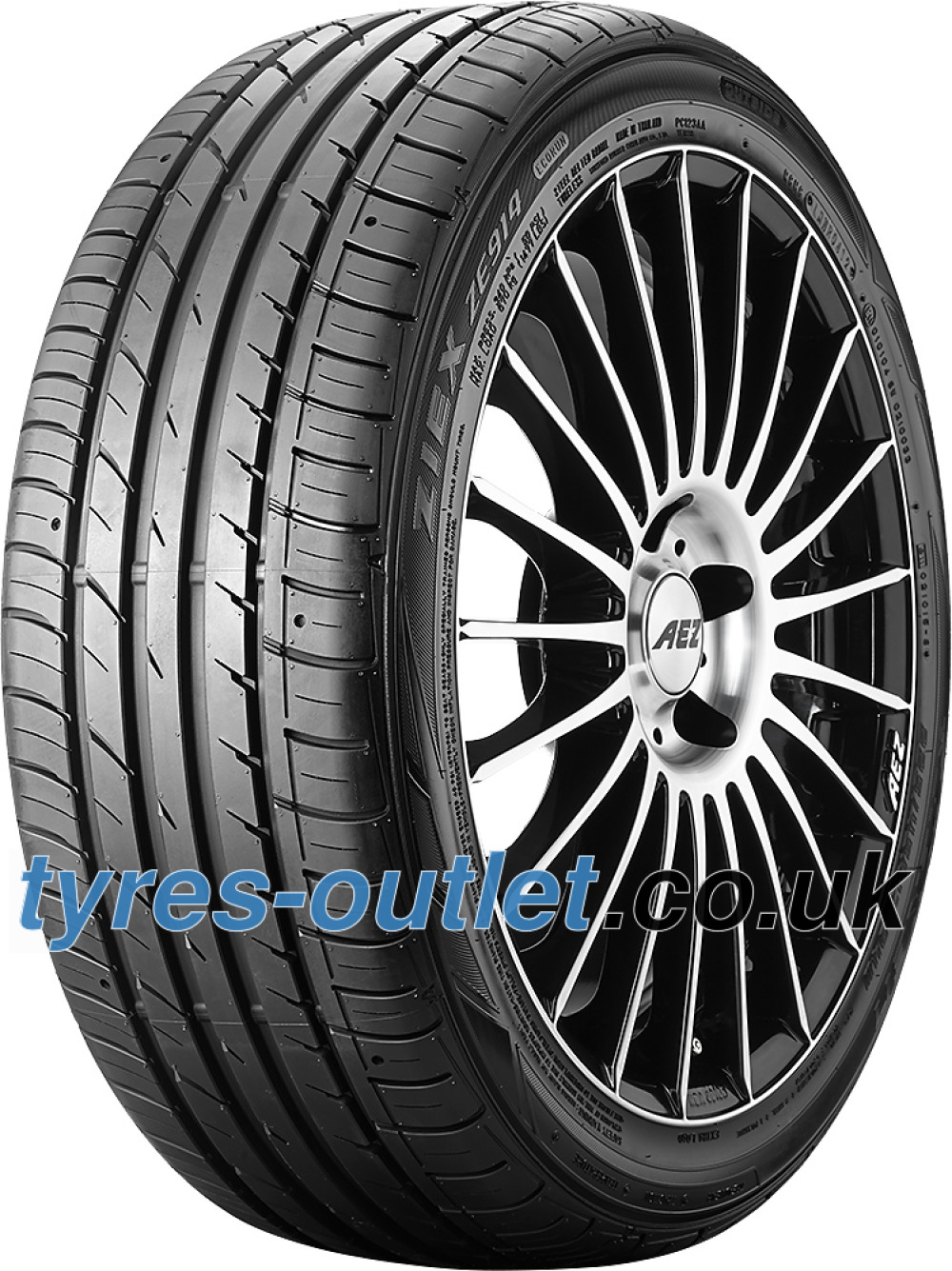 Falken Ziex ZE914 Ecorun ( 215/40 R18 89W XL with rim protection (MFS) )