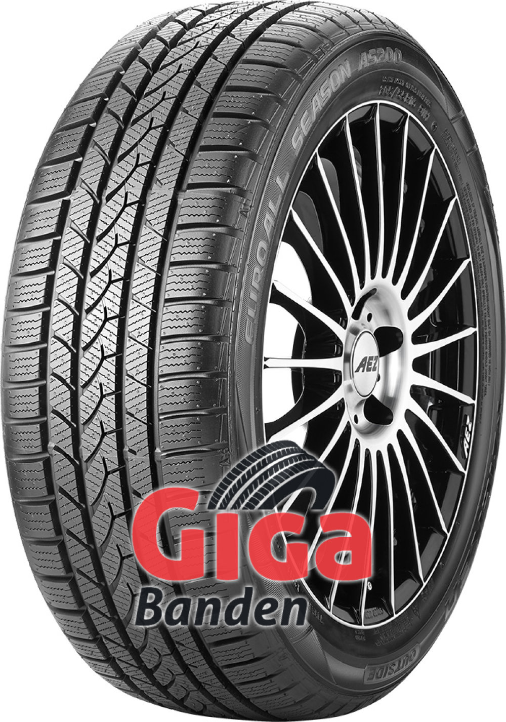 Falken Euro All Season AS200 ( 195/55 R16 87V , met velgrandbescherming (MFS) )