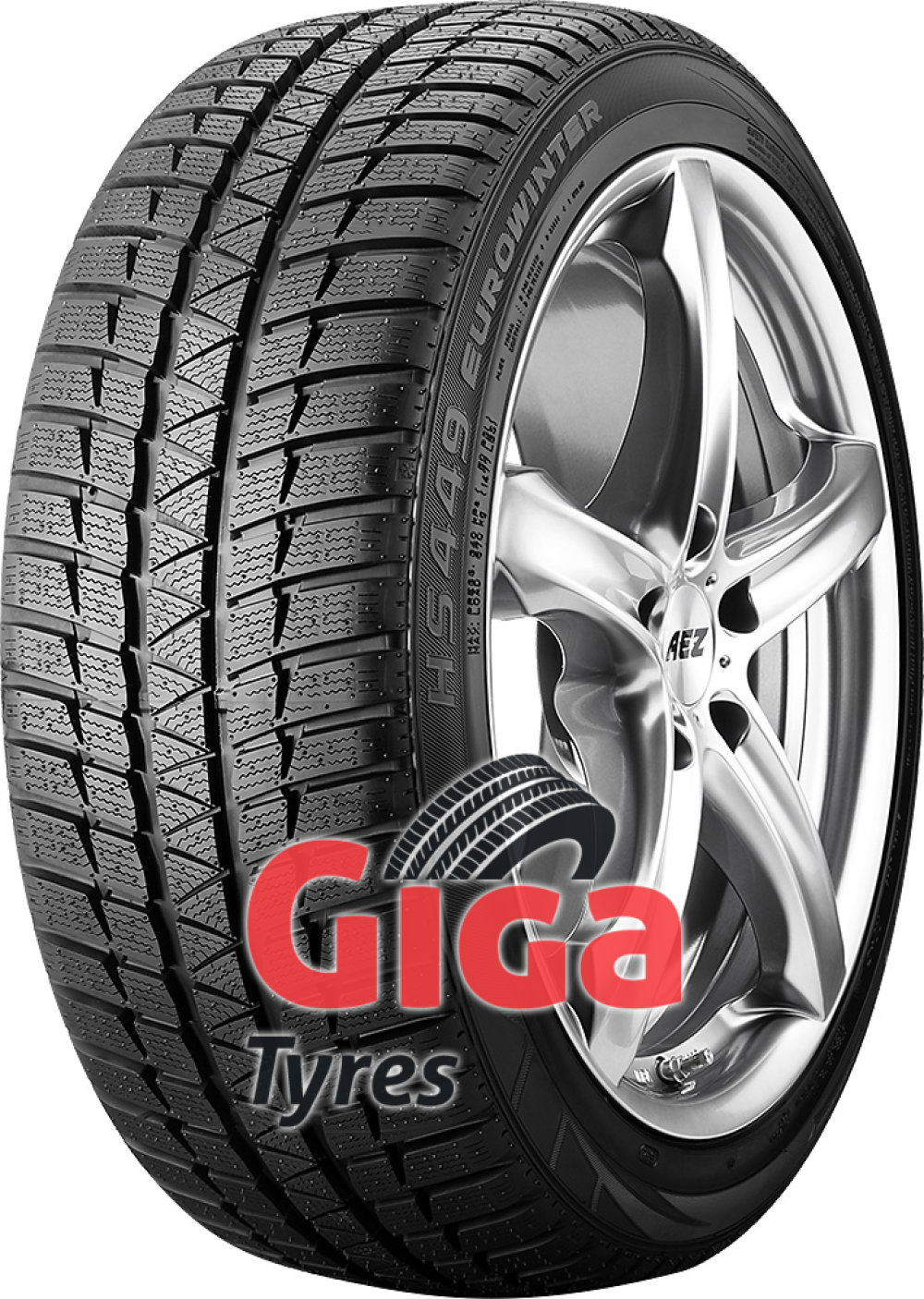 Falken Eurowinter HS449 RFT ( 275/40 R20 102V , with rim protection (MFS), runflat )