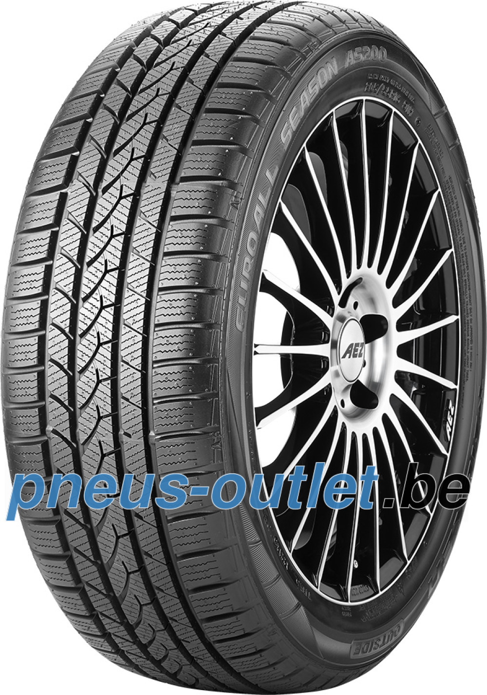 Falken Euro All Season AS200 ( 215/50 R17 95V XL avec protège-jante (MFS) )