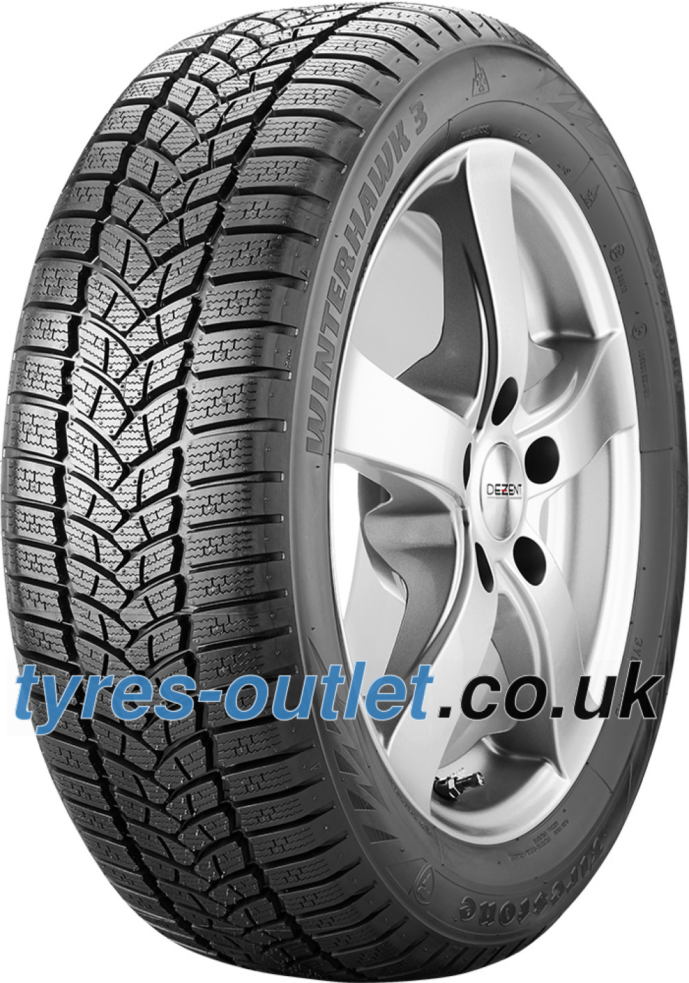 Firestone Winterhawk 3 ( 225/50 R17 98H XL , with rim protection (MFS) )