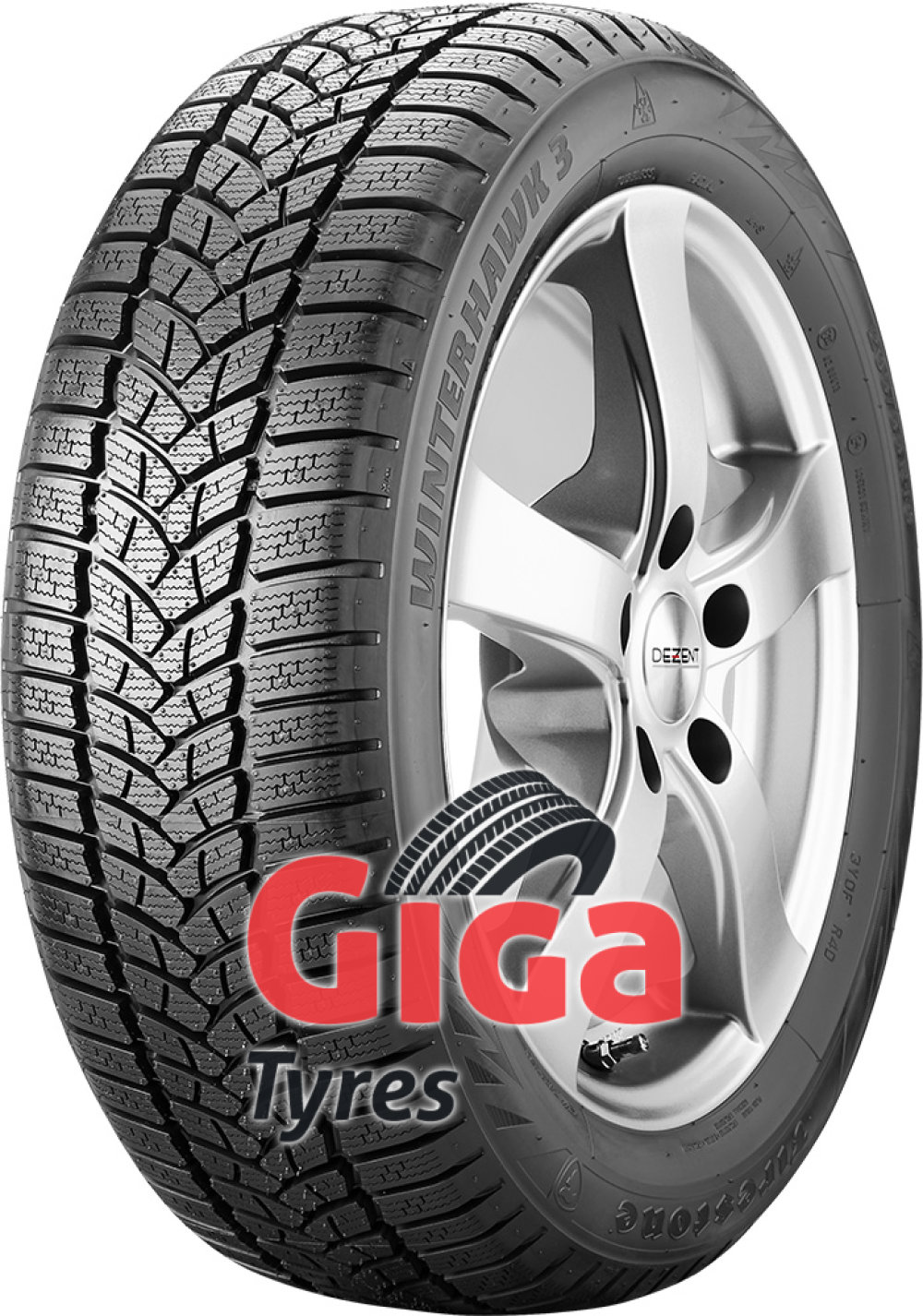 Firestone Winterhawk 3 ( 205/50 R17 93V XL , with rim protection (MFS) )