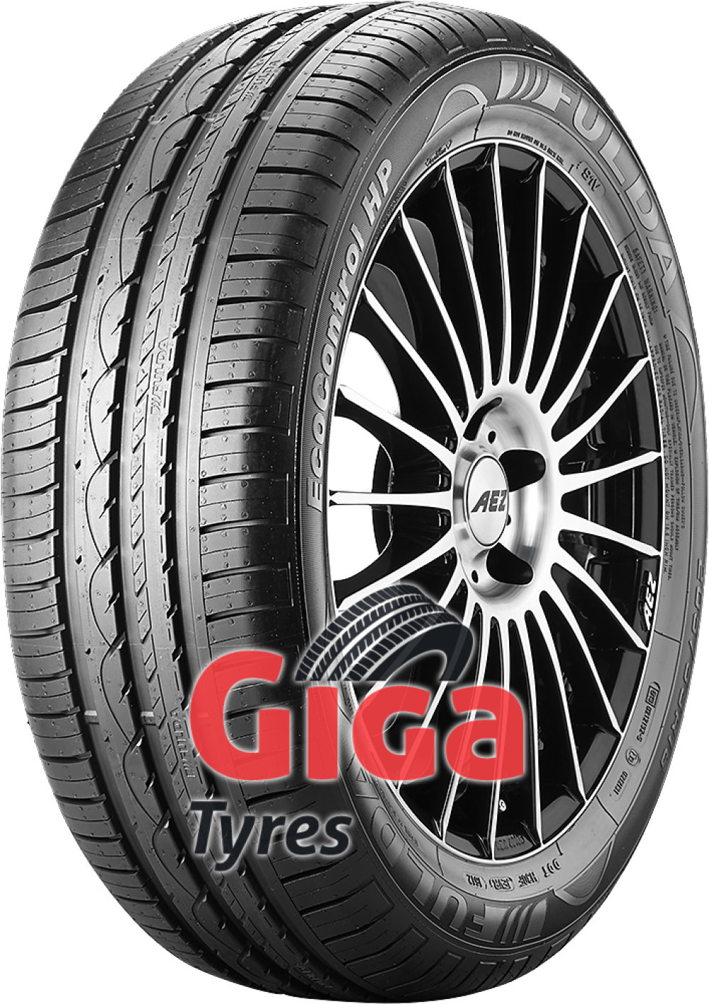 Fulda EcoControl HP ( 215/65 R15 96H with rim protection (MFS) )