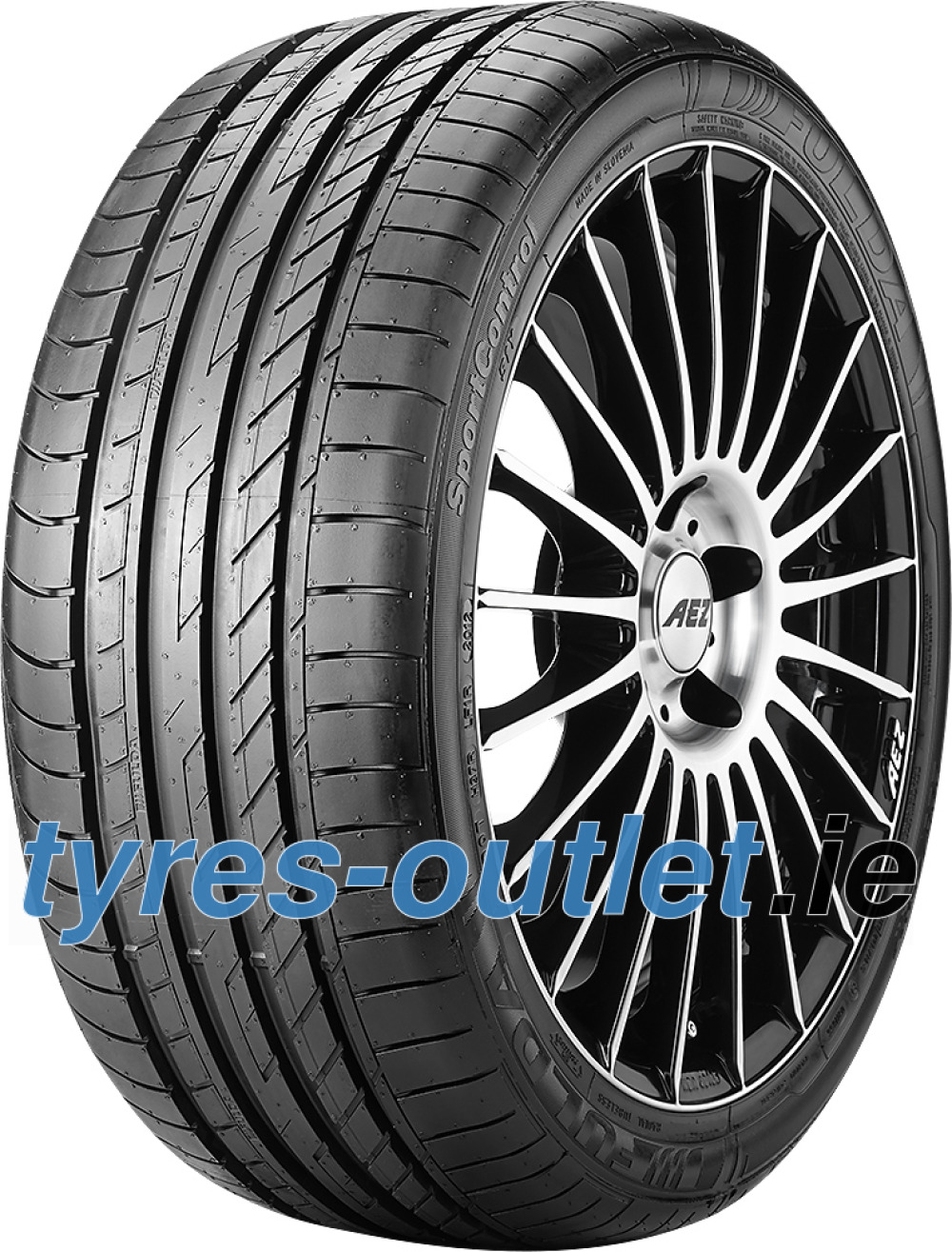 Fulda SportControl ( 255/35 R19 96Y XL with rim protection (MFS) )